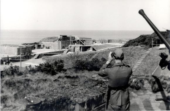 Le mur de l'atlantique à Royan
