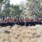 L'hommage des porte drapeau